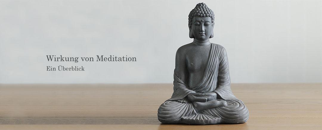Wirkung von Meditation | Ein Überblick