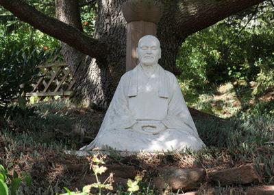 Statue von Meister Dogen