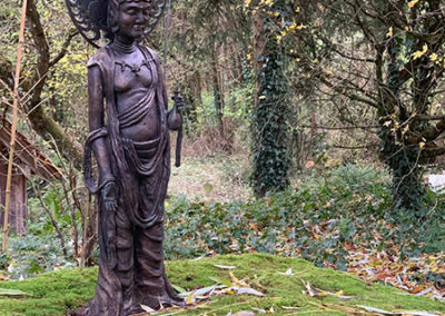 Maya als zukünftiger Buddha