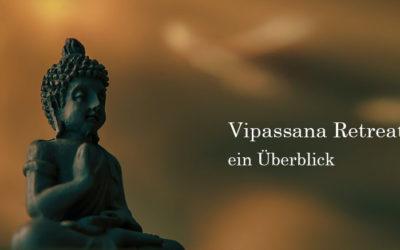 Vipassana Retreat: Buddhayoga | Überblick