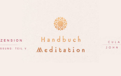Buchrezension: Handbuch Meditation | Inhalt Teil V