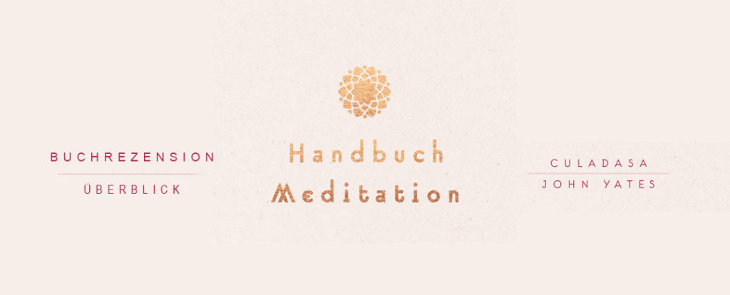 Buchcover von Handbuch Meditation