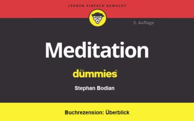 Buchrezension: Meditation für Dummies | Überblick